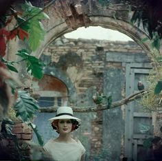Exclusive: Vintage Fashion Shot by Gordon Parks -- A Planter's Panama, Cuba, 1958.