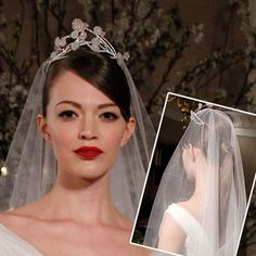 Brides Magazine: Wedding Makeup and Hairstyle Inspiration from the Runways : Wedding Hairstyle Gallery