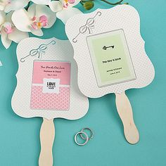 Personalized Designer Paper Fan