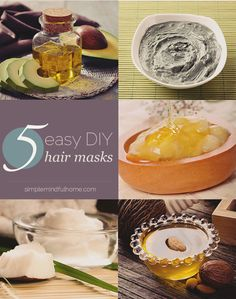 5 Natural DIY Hair M