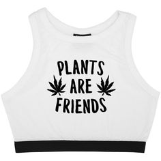 PLANTS ARE FRIENDS ELASTIC BRALET (€17) ❤ liked on Polyvore featuring tops, black and white top, white and black crop top, black white crop top, cut-out crop tops and bralet tops