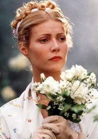 Gwenyth Paltrow in the movie remake EMMA  Not my favorite (thought the Mr. Knightly was excellent) but liked it way more than the star studded S&S.