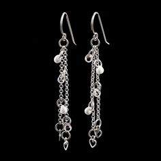 This Loving in Sterling Silver Kit includes all of the components you need to make these beautiful 3 inch long dangling earrings that feature Swarovski Crystals! OR, select Read Made and we will expertly make these earrings for you!  ♥This is a quick and easy project with great return. You can make this! Its a perfect kit for a beginner but rewarding for more experienced jewelry makers too! You will need wire cutters, round nose pliers, 2 flat nose pliers.  INSTRUCTIONS - You Pick Printed…