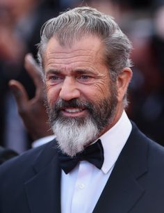 "Mel Gibson Photos - Mel Gibson attends ""The Expendables premiere during the Annual Cannes Film Festival on May 2014 in Cannes, France. - ""The Expendables Premiere - The Annual Cannes Film Festival Grey Beards, Long Beards, Long Beard Styles, Hair And Beard Styles, The Expendables, Cannes Film Festival, Hairy Men, Bearded Men, Mel Gibson Beard"