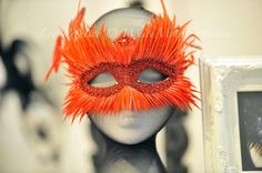 Items similar to When Two Worlds Collide - Masquerade Mask - Ball Party Venetian Gothic Red Feathers Bird on Etsy Masquerade Wedding, Masquerade Masks, Second World, Big Day, Event Planning, Halloween Face Makeup, Romantic, Costumes, Masquerades