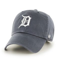 Detroit Tigers 47 Brand Vintage Clean Up Adjustable Hat - Low Prices & Quick Shipping at Detroit Game Gear