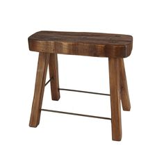 A rectangle stool for the kitchen.