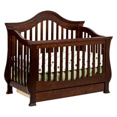 Million Dollar Baby Classic Ashbury 4 in 1 Convertible Crib | www.hayneedle.com