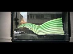 ▶ Nike installs Kinect powered interactive window displays - YouTube