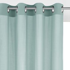 rideau lin coton illets ta ma la redoute interieurs. Black Bedroom Furniture Sets. Home Design Ideas