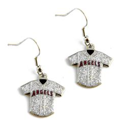 """Officially licensed MLB earrings! Approximately 3/4"""" in width! Perfect collectible for any sports fan! Show off your team spirit by wearing these awesome jersey"""