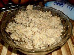 Ořechová nádivka od sousedky Krispie Treats, Rice Krispies, Nutella, Oatmeal, Grains, Sweets, Breakfast, Sugar Paste, Fine Dining