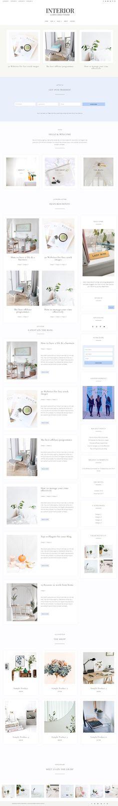 - Interior WordPress web design inspiration web design layout business web design web design 2018 we - Web Design Trends, Design Web, Layout Design, Business Web Design, Custom Web Design, Custom Website Design, Blog Layout, Design Blog, Free Design