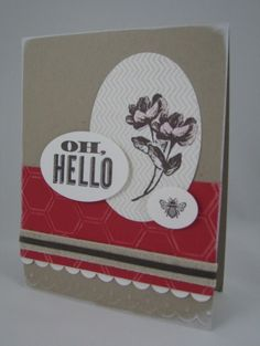 Oh, Hello -Love the new Spring Catty from Stampin' Up!