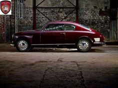 LANCIA Aurelia B20 by Ghia 1951 later modified by Pininfarina