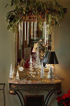 Victorian Christmas Decorations   ... Decorating Ideas for Bedrooms: Victorian Holiday Decorating Idea