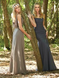 Bridesmaid dresses by Impression Bridal - Style 20216, 20218