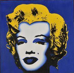 En vente samedi 7 mai 2016 par  Société de Ventes Thierry Lannon & Associés à Brest : Ecole moderne, Marylin Monroe, acrylique sur toile, 60 x 60 cm. Est. 600 - 1 000 euros.