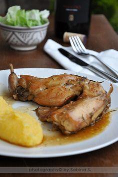 Due bionde in cucina: Coniglio alla bresciana