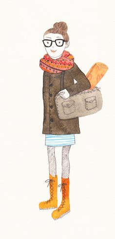 What i wore today #fashion #illustration
