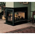 Peninsula Direct Vent Natural Gas Fireplace lets you enjoy your fire from almost all angles.  www.elitedeals.com $2353.50