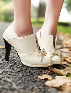 bow tie shoes.