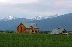 Hamilton, Montana in the BitterRoot Valley :) Love, love, love this area!