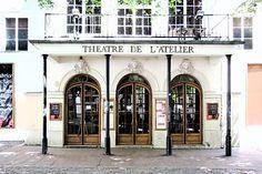A cute little theater...  Thursday, September 29, 2011. Eric Tenin, Paris Daily PHoto