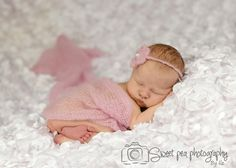 Newborn Baby Girl Photography, Tushy Up Pose, Mohair wrap, Sweet Pea Photography by Liz