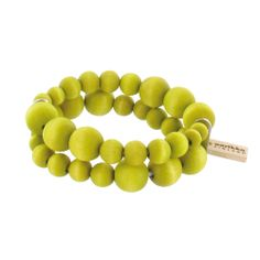Aarikka bracelet, wooden beads.   Aarikka - Rannekorut : Pilvi rannekoru
