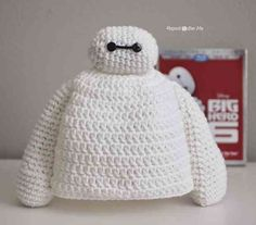 Crochet This Adorable Big Hero 6 Baymax Hat With A Free Pattern