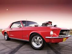 Ford Mustang #muscle #car One of the few Fords I like...