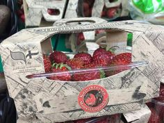 exclusive strawberry packaging from finland