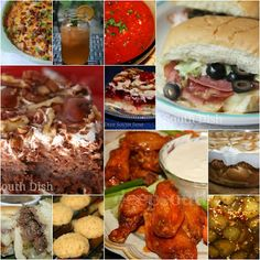 Super Bowl and Tailgate Party Food and Menu Ideas from Deep South Dish