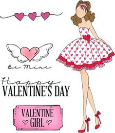 Prima Marketing Julie Nutting Doll Stamp - Love Day 4x6 Cling Stamp Kit found at fotobella.com