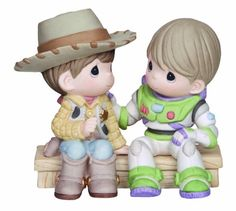 ※ New Precious Moments Disney Figurine Toy Story Buzz Lightyear Sheriff Woody at Hallmark at the Mall. Disney Precious Moments, Precious Moments Quotes, Precious Moments Figurines, Disney Figurines, Collectible Figurines, Woody And Buzz, Toy Story Buzz Lightyear, Disney Toys, Disney Pixar