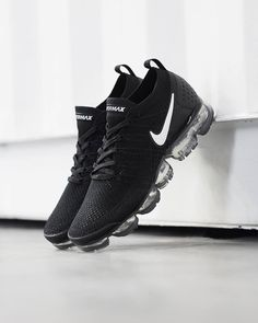 """30faf229 size? on Instagram: """"The @NikeSportswear Air Vapormax's second coming sees  the iconic silhouette evolve once again. The Air Vapormax 2.0 sees a black  ..."""