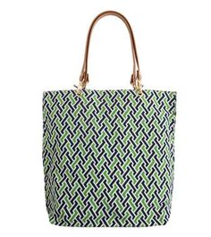 AKEN QUAD TOTE    This carryall tote has been a J.McLaughlin favorite for many. Preppy, chic and functional.
