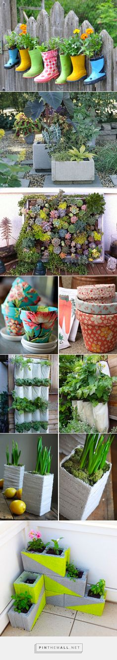 The 35 Most Creative DIY Planters   Brit + Co - created via http://pinthemall.net