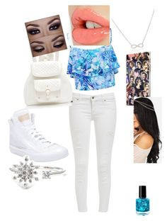 """""""school"""" by calimybae ❤ liked on Polyvore featuring beauty, Forever New, adidas, Samsung, Adina Reyter and Charlotte Tilbury"""