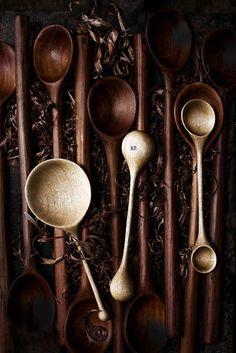 My new handcarved spoon range