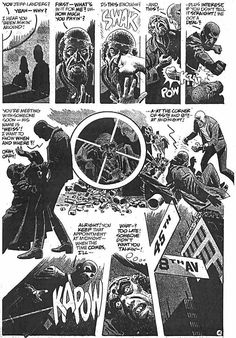 "Look Here, Read: ""A Job Well Done,"" with art by Alex Toth – Ragged Claws Network Comic Book Layout, Comic Book Pages, Comic Books Art, Space Ghost, Jack Kirby, Walter Lantz, Jordi Bernet, Alex Toth, Book Creator"