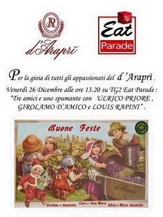 #dAraprì a #EatParade
