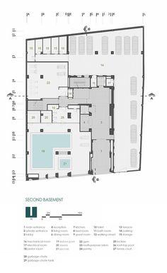 Sipan Residential Building,Floor Plan
