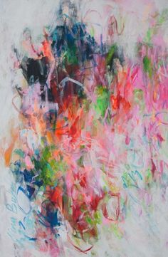 my colorful worlds (2015) Acrylic painting by Elena Petrova | Artfinder
