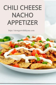 These chili cheese nachos are made with homemade, fresh ingredients, homemade seasoning, and homemade queso to give you a delicious taste and lots of hidden veggies to give your body the nutrients it needs! Leftover Chili Recipes, Turkey Recipes, Homemade Cheese Sauce, Homemade Seasonings, Healthy Chili, Stay Healthy, Healthy Life, Clean Eating Recipes, Healthy Dinner Recipes