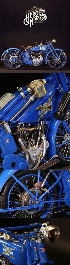 1920 EXCELSIOR SERIES 20 1000cc 'BIG TWIN'