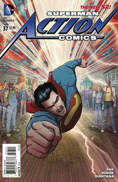 Action Comics #37 by Aaron Kuder and Wil Quintana