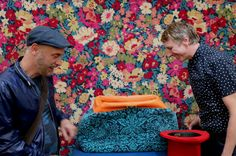 Quirky B - Liberty Fabrics Collection at Decorex International 2016.