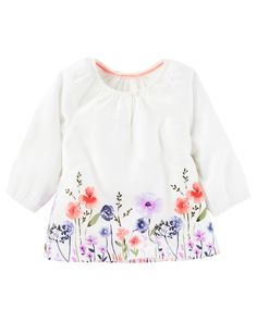 Baby Girl Floral Boho Top from OshKosh B'gosh. Shop clothing & accessories from a trusted name in kids, toddlers, and baby clothes.